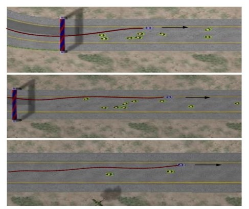 Overtaking Maneuvers in Simulated Highway Driving using Deep Reinforcement Learning